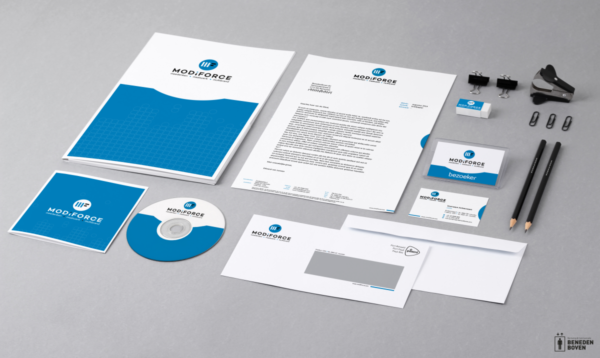 Modiforce (Pon) - corporate identity